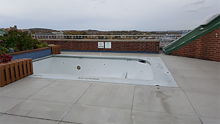 Project Spotlight: Penthouse Pool Deck Reviews & Repairs